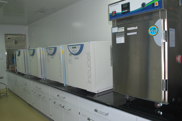 Microbiology Room - Biosafety Cabinet